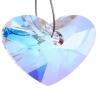 Crazy 4 U Heart 17mm Aurora Borealis Crystal